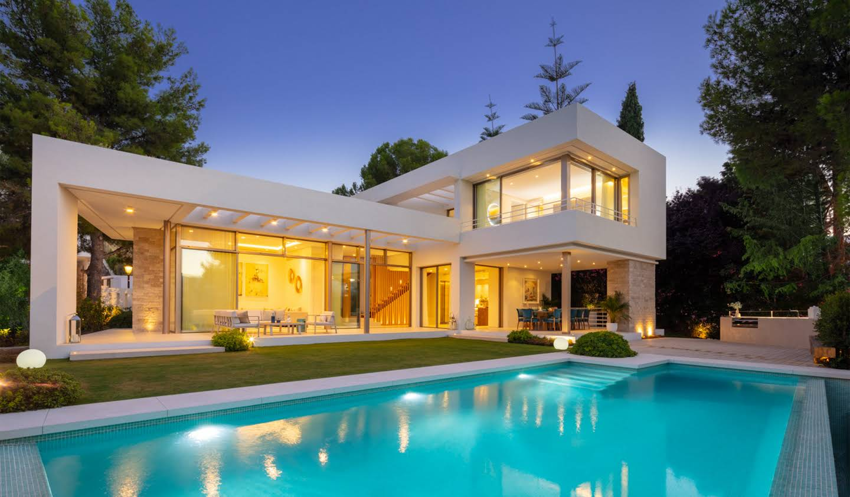 Villa avec piscine et jardin Marbella