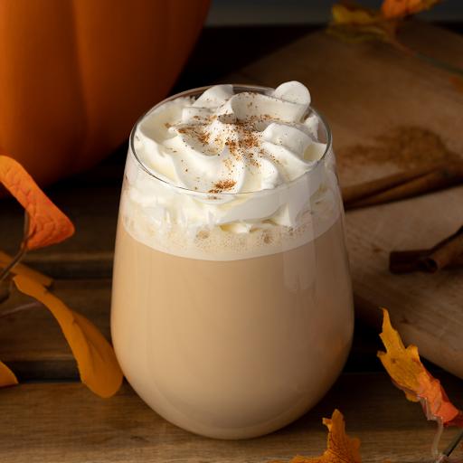 Pumpkin Spice Tea Latte