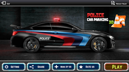 Police Car Parking 1.0 screenshots 1