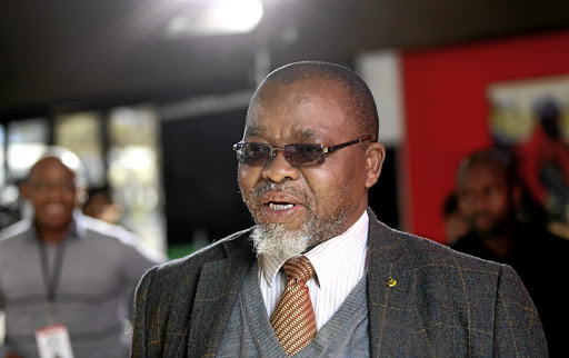 ANC secretary-general Gwede Mantashe.