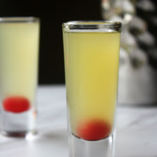 Pineapple Upside Down Cake Shot