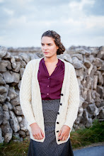 Photo: Boyfriend Merino Cardigan -  This lovely long cardigan is crafted with 100% Merino Wool. Its V-Neck style and long length make it extra comfy!  https://www.aransweatermarket.com/boyfriend-merino-cardigan