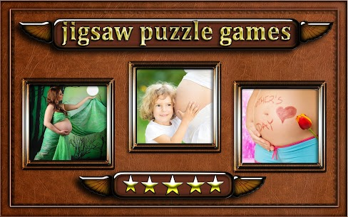 pregnant woman belly Jigsaw Puzzle game 2