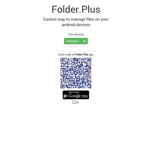 Folder.Plus - Web File Manager