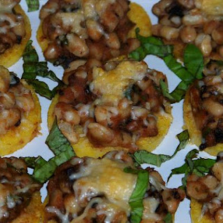 Creamy Italian Beans and Polenta Appetizers