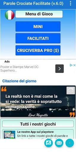 Cruciverba e Parole Crociate Facilitati gratis apkdebit screenshots 2
