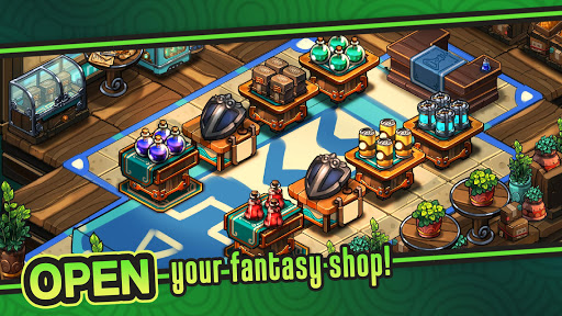 Tiny Shop: Idle Fantasy Shop Simulator modavailable screenshots 1