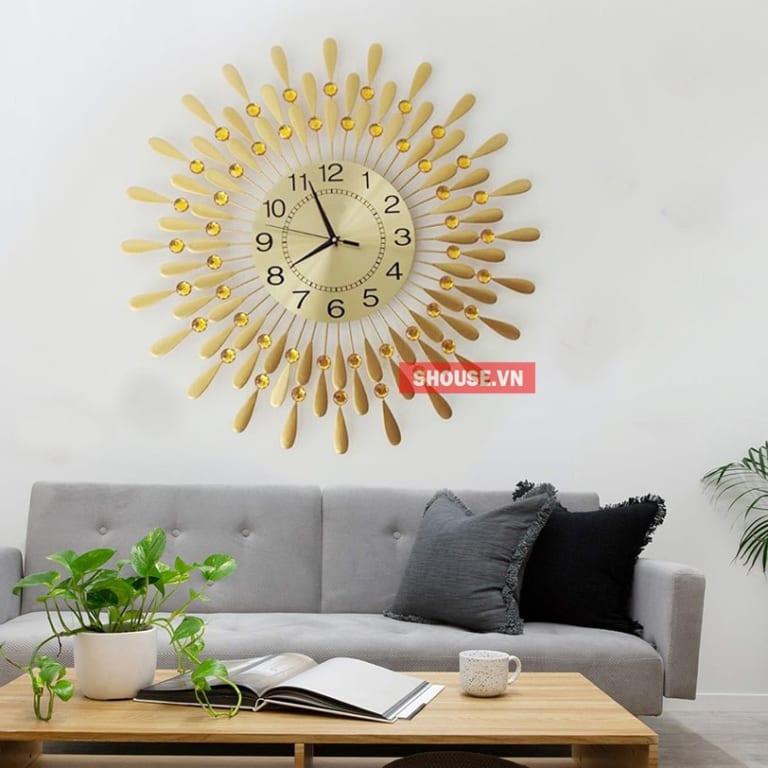 Đồng hồ treo tường giọt sương tạo sự tinh tế và trang nhã cho căn hộ của bạn