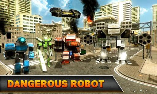 無料动作Appのジェット戦闘機ロボット大戦|記事Game