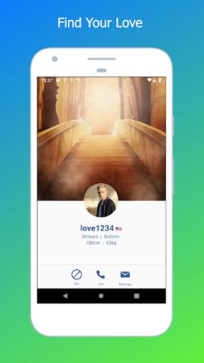 vichat - gay video chat app 2.7 Screenshots 2