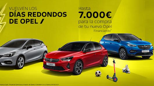 Trae a Opel cualquier cosa que ruede, y llévate hasta 7.000 euros de descuento