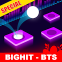 BTS Dancing Hop: BOY WITH LUV KPOP Rush Tiles Game icon