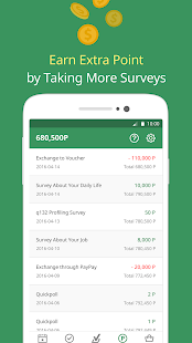 surveyon - Cash, Survey & Fun Screenshot