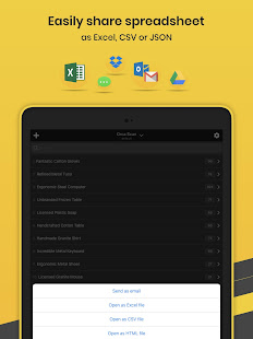 App Orca Scan - Barcode Scanner to Excel Spreadsheet APK for Windows Phone