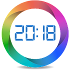 Alarm clock with cyclic alarms and calendar icon