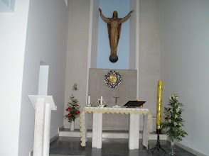 Photo: Capilla Cristo Rey en la Casa Madre