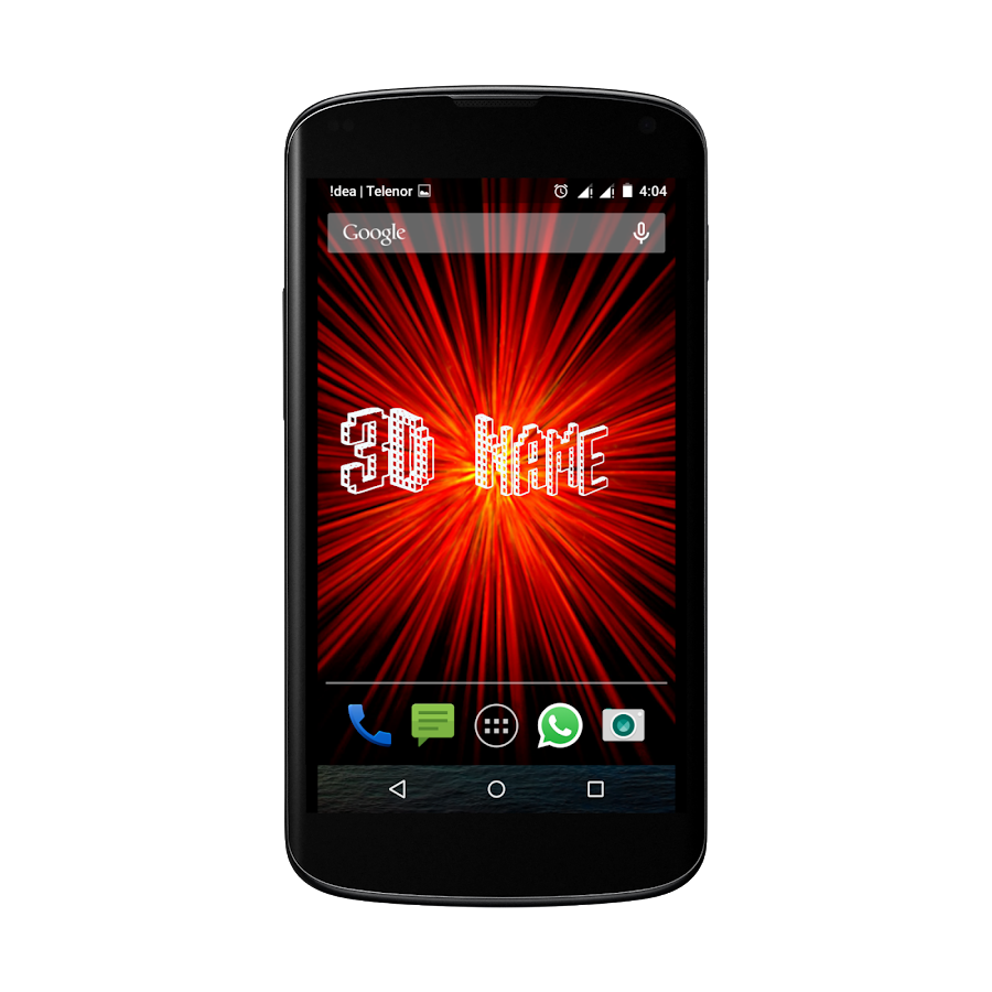3D LED My Name Live Wallpaper  Android Apps on Google Play