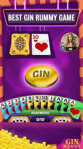 Gin Rummy Online - Multiplayer Card Game 14.1 screenshots 1