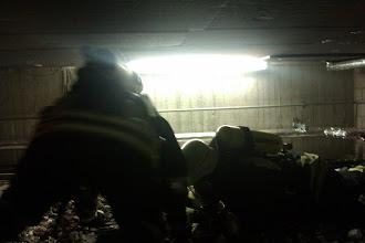 Photo: Dies erfolgt unter großem Einsatz des 1.Rettungstrupp