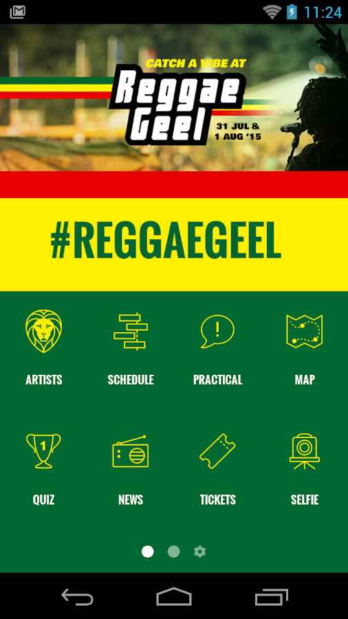 Reggae Geel- screenshot
