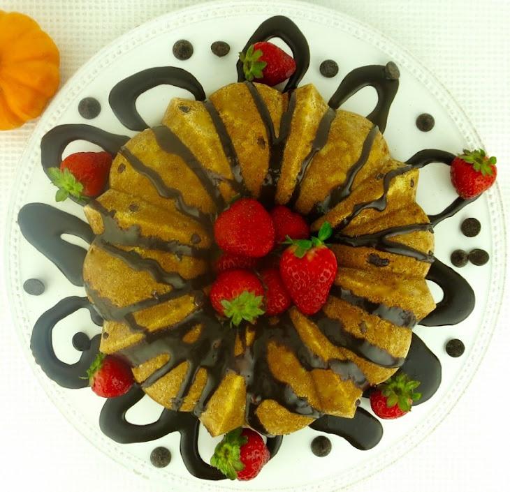 Pumpkin Chocolate Chip Bundt Cake (Dairy & Gluten-Free) Recept ...