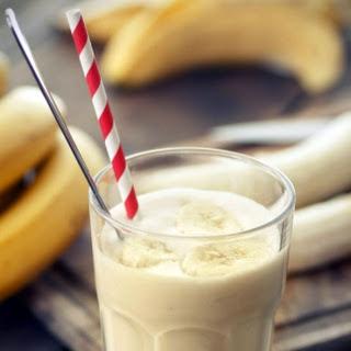 Low Carb Caramel Banana Smoothie