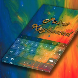 Colorful Paint Keyboard - náhled