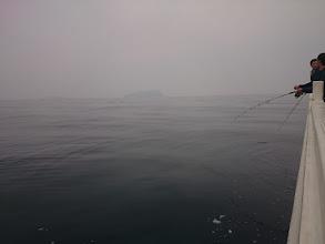 Photo: ちょっと「ガス」ってますがベタベタ水面、最高!