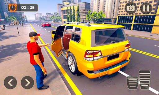 Prado Taxi Car Driving Simulator  screenshots 6