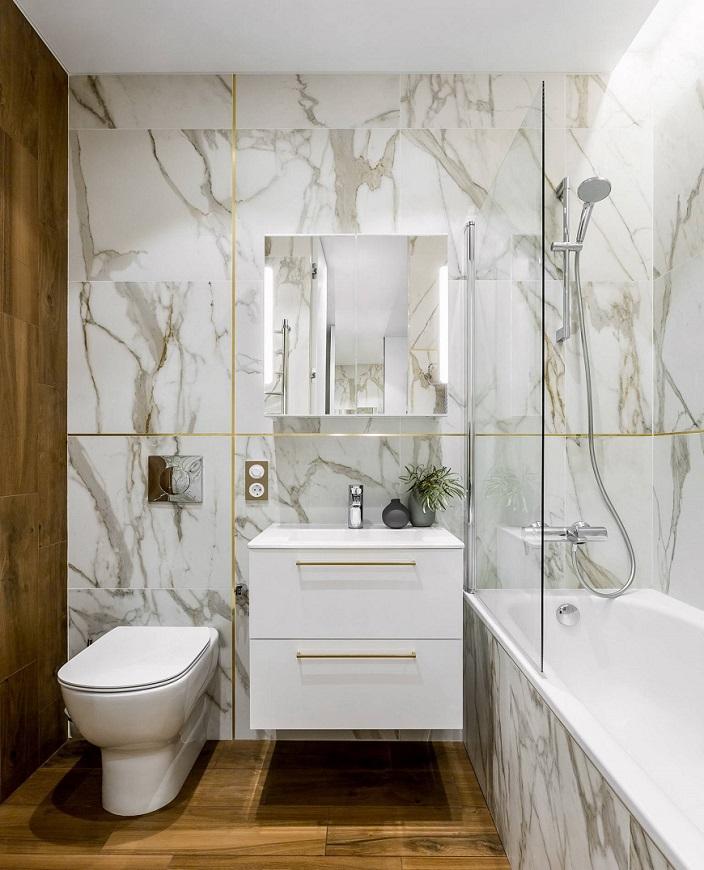 Nhà tắm đảm bảo đầy đủ các tiêu chuẩn