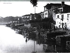 Photo: Ribeira dos Peiraos. Onde remata o río Ghafos. Cada casa tiña o seu peirao.
