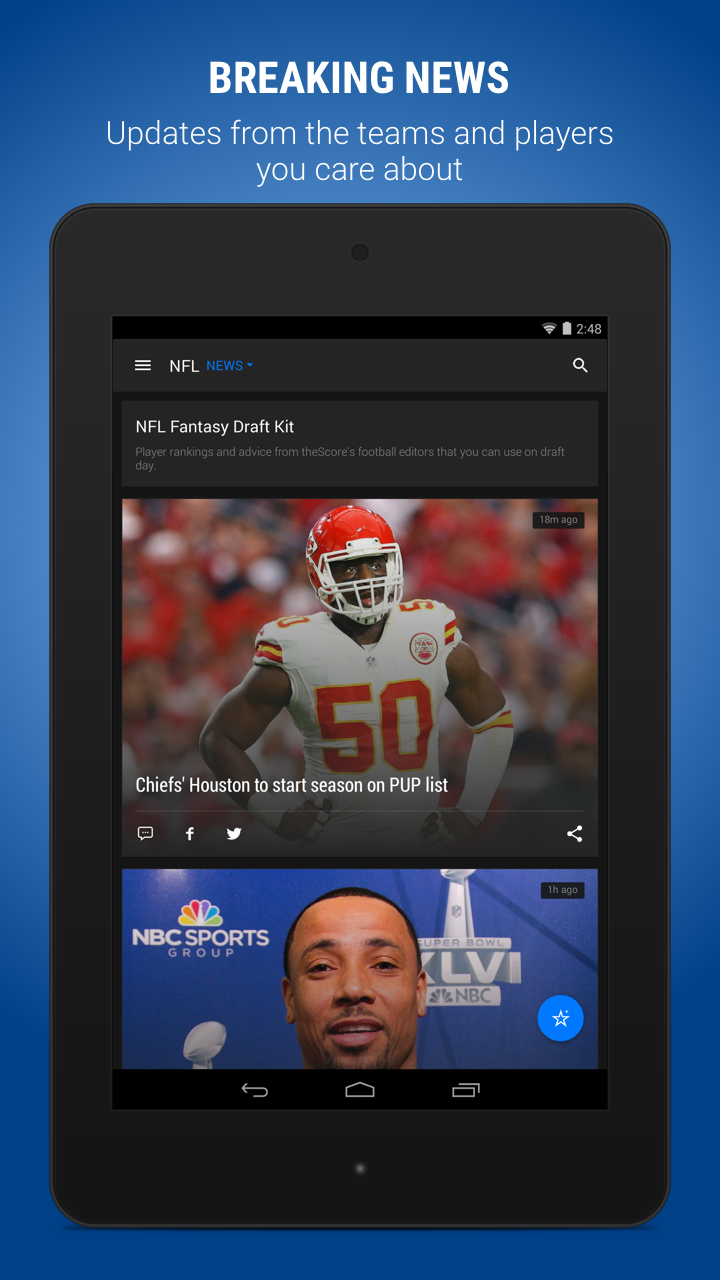 theScore: Sports Scores & News screenshot #11
