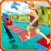 Stuntman Water Run Android APK Download Free By Interactive Games