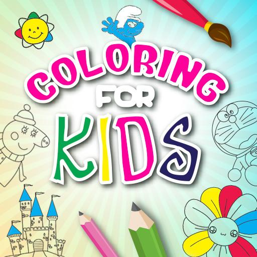 Coloring For Kids: Learn to Paint & Color!