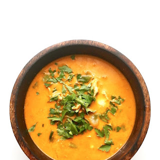 Thai Red Chicken and Coconut Soup