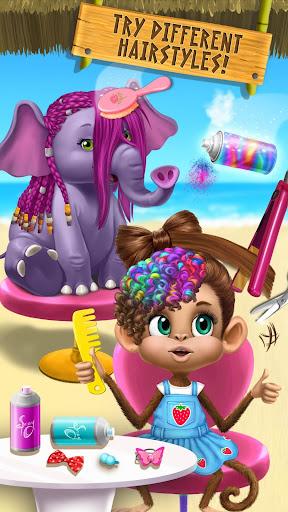 Jungle Animal Hair Salon 2 - Tropical Beauty Salon android2mod screenshots 7