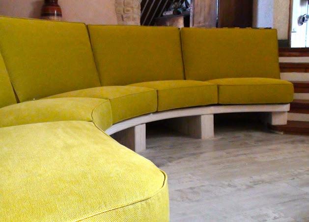 banquette sur mesure atelier hafner tapissier sellier. Black Bedroom Furniture Sets. Home Design Ideas