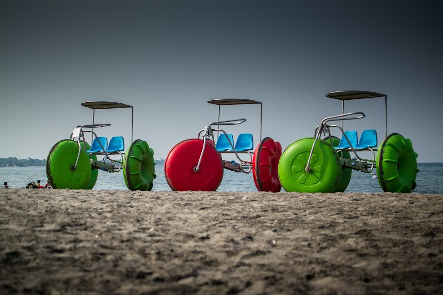 Sea Trikes by Ynon Francisco - Transportation Other ( sand, dunes, transport, colors, zambales, sea, beach, fun, philippines,  )