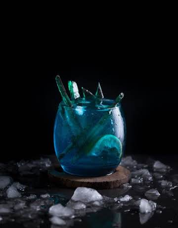 Game of Thrones White Walker Blue Cocktail