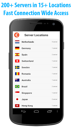 VPN Easy 1.2.4 screenshots 2