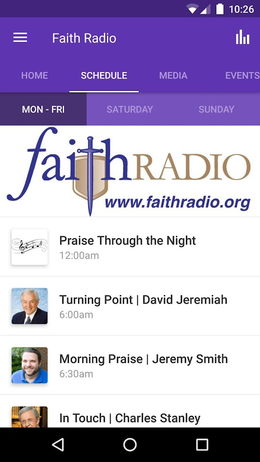 Faith Radio WLBF- screenshot
