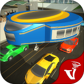 Gyroscopic Bus Driving: Futuristic Transport Games