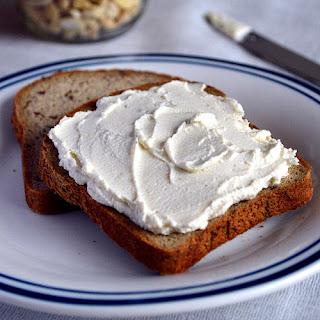 Garlic and Herb Vegan Cashew Cream Cheese