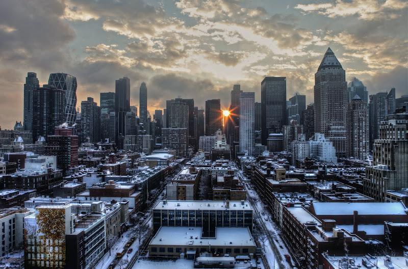 Photo: The Morning After - Midtown Manhattan after a Blizzard