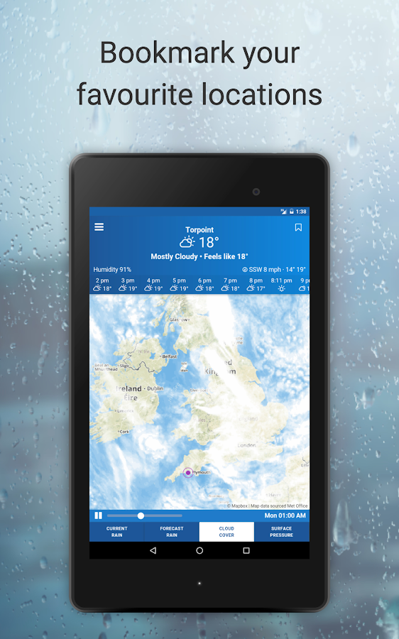 uk weather maps - met office