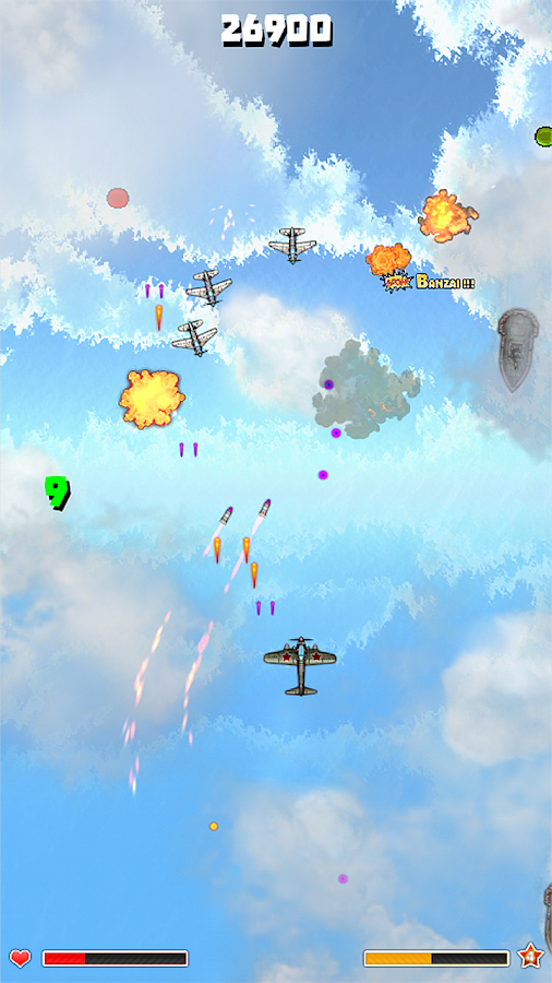 Plane Storm- screenshot