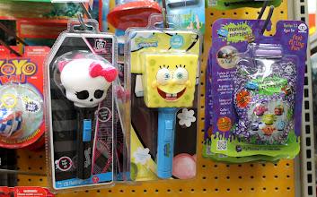 Photo: I spotted a Spongebob flashlight...