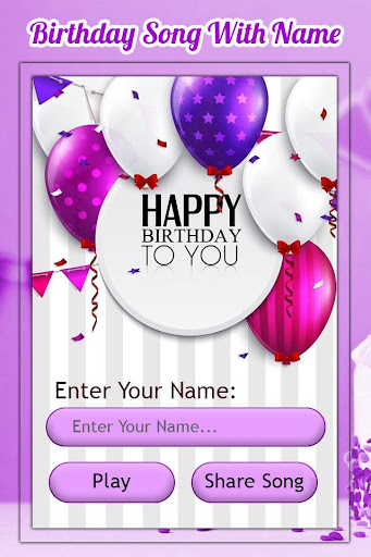 Download Birthday Song With Name Maker On Pc Mac With Appkiwi Apk Downloader