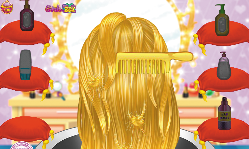 Royal Princess Haircuts Salon- screenshot