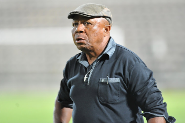 A file photo of Botswana national team head cocah David Bright (Head Coach) of F.C. Cape Town during the National First Division match between Santos and FC Cape Town at Athlone Stadium on December 19, 2014 in Cape Town, South Africa.